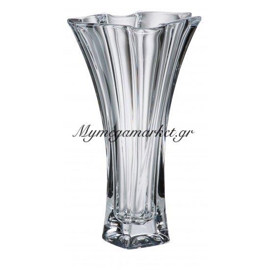 Βάζο κρυστάλλινο Bohemia 26,5cm Neptune Στην κατηγορία Βάζα κρυστάλλινα Bohemia | Mymegamarket.gr