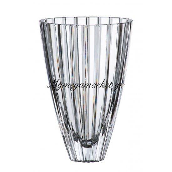 Βάζο κρυστάλλινο Bohemia 30,5cm Oval Στην κατηγορία Βάζα κρυστάλλινα Bohemia | Mymegamarket.gr