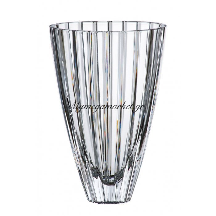 Βάζο κρυστάλλινο Bohemia 30,5cm Oval | Mymegamarket.gr