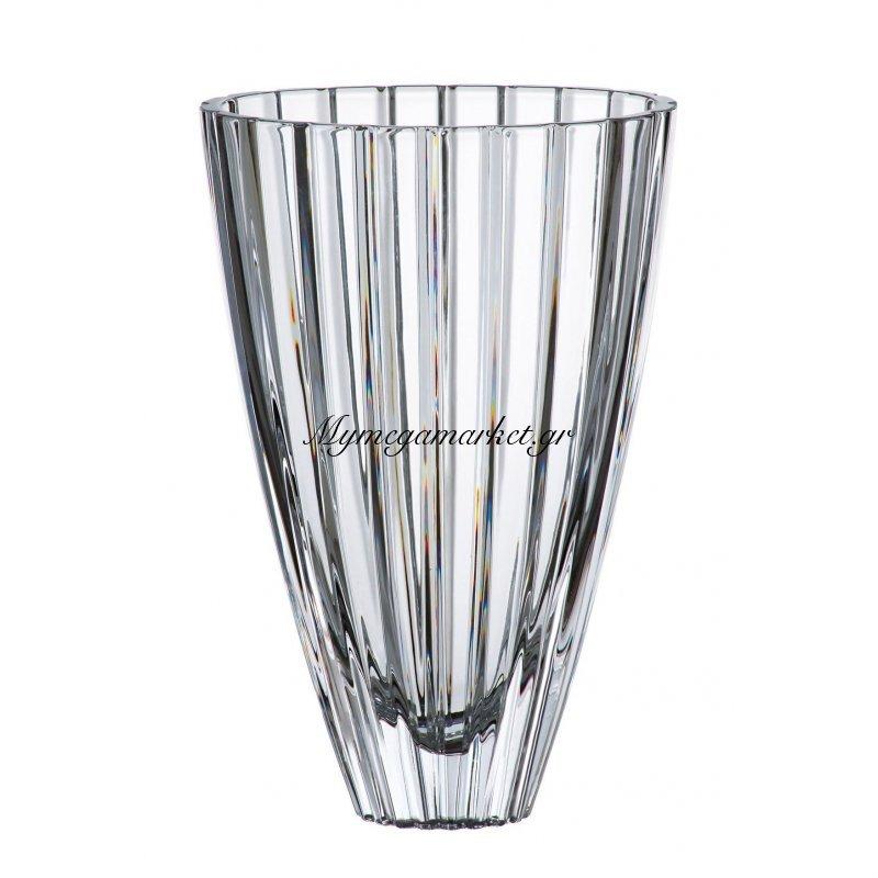 Βάζο κρυστάλλινο Bohemia 30,5cm Oval