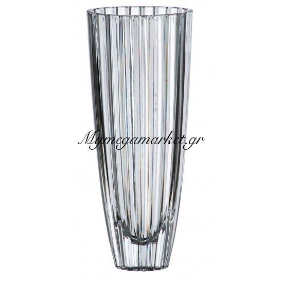 Βάζο κρυστάλλινο Bohemia 35,5cm Oval Στην κατηγορία Βάζα κρυστάλλινα Bohemia | Mymegamarket.gr