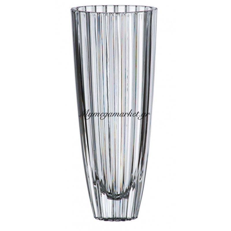 Βάζο κρυστάλλινο Bohemia 35,5cm Oval