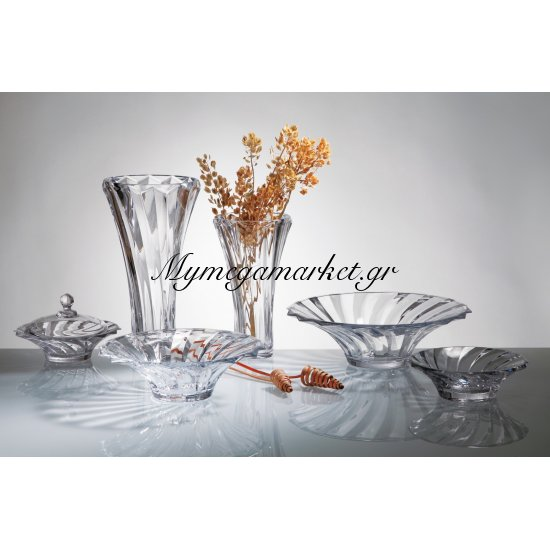 Βάζο κρυστάλλινο Bohemia 35,5cm Picadelli Στην κατηγορία Βάζα κρυστάλλινα Bohemia | Mymegamarket.gr