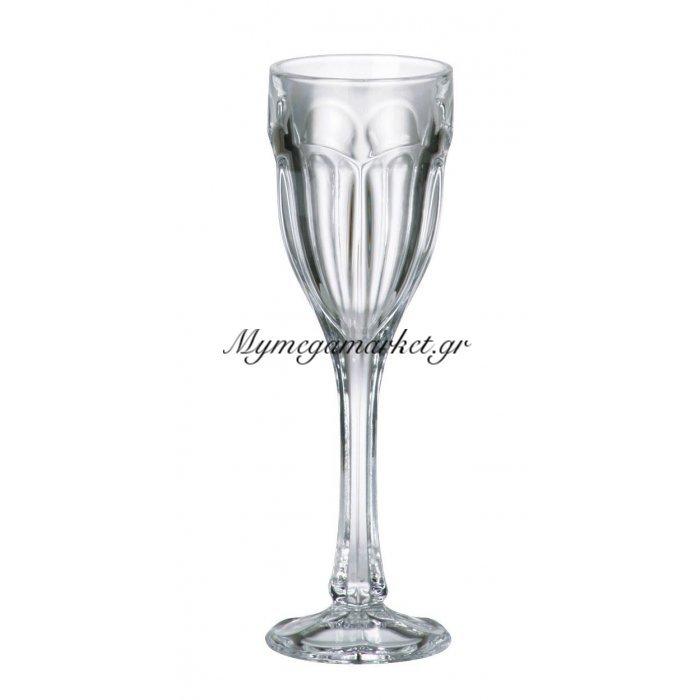 Ποτήρι λικέρ με πόδι κρυστάλλινο Bohemia 50ml Safari | Mymegamarket.gr