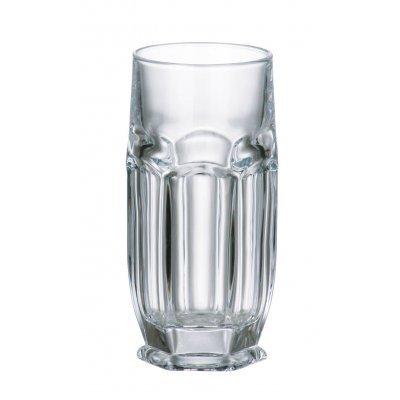 Ποτήρι νερού σωλήνα κρυστάλλινο Bohemia 300ml Safari