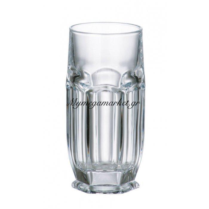 Ποτήρι νερού σωλήνα κρυστάλλινο Bohemia 300ml Safari | Mymegamarket.gr
