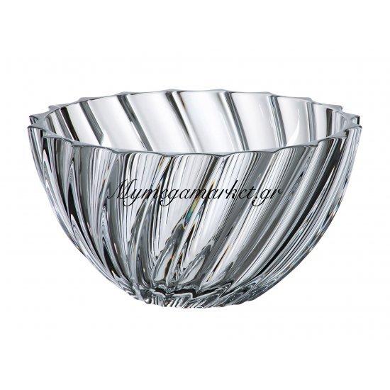 Κούπ κρυστάλλινο Bohemia 28cm Scallop Στην κατηγορία Μπόλ & κούπ κρυστάλλινα Bohemia | Mymegamarket.gr