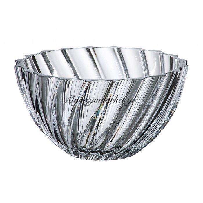 Κούπ κρυστάλλινο Bohemia 28cm Scallop | Mymegamarket.gr