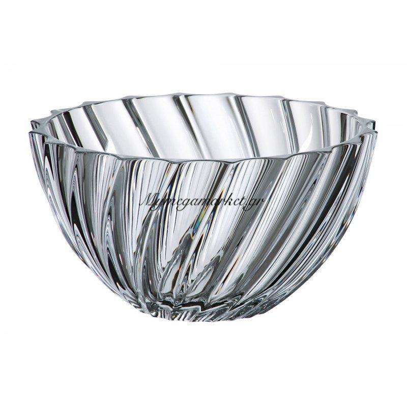 Κούπ κρυστάλλινο Bohemia 28cm Scallop