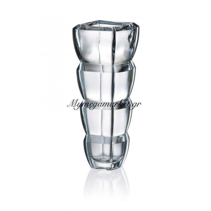 Βάζο κρυστάλλινο Bohemia 28cm Segment | Mymegamarket.gr