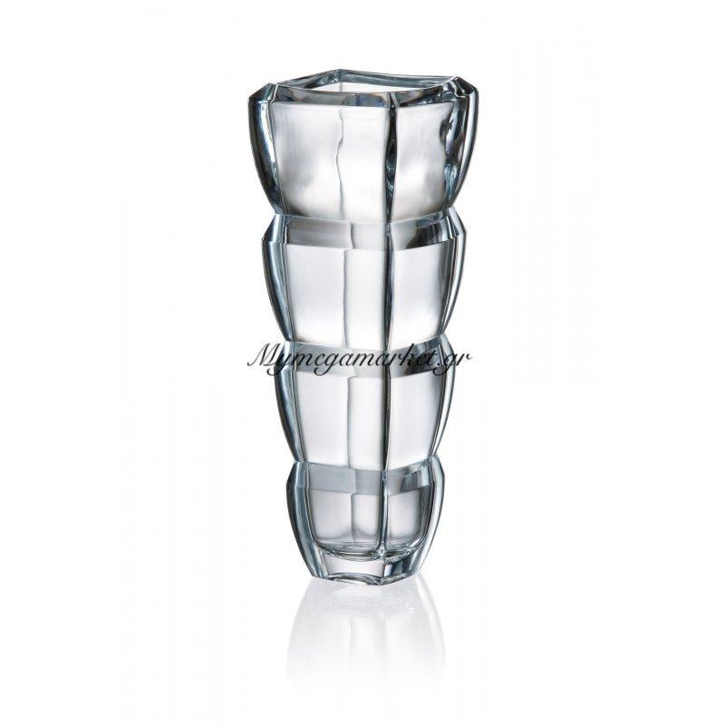 Βάζο κρυστάλλινο Bohemia 34cm Segment Στην κατηγορία Βάζα κρυστάλλινα Bohemia | Mymegamarket.gr