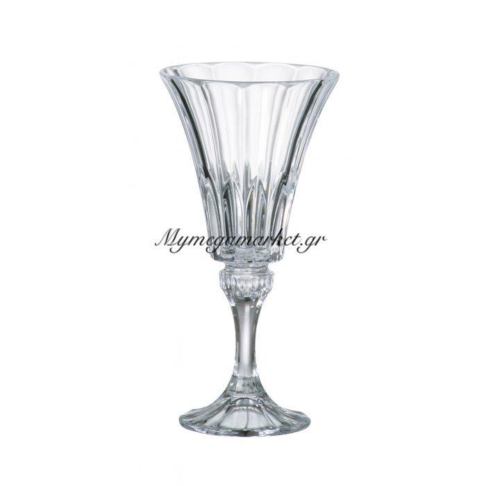 Ποτήρι κρασιού με πόδι κρυστάλλινο Bohemia 200ml Wellington | Mymegamarket.gr