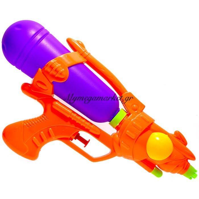 Νεροπίστολο πλαστικό 26 cm σε πορτοκαλί χρώμα | Mymegamarket.gr
