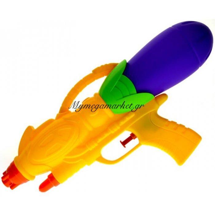 Νεροπίστολο πλαστικό 31 cm σε κίτρινο χρώμα | Mymegamarket.gr