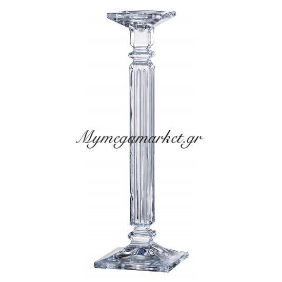 Κηροπήγιο κρυστάλλινο Bohemia Eminence 35,5cm Στην κατηγορία Κρυστάλλινα κηροπήγια Bohemia | Mymegamarket.gr
