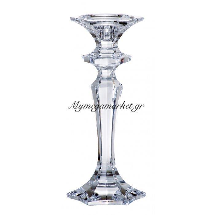 Κηροπήγιο κρυστάλλινο Bohemia Luxor 21cm | Mymegamarket.gr