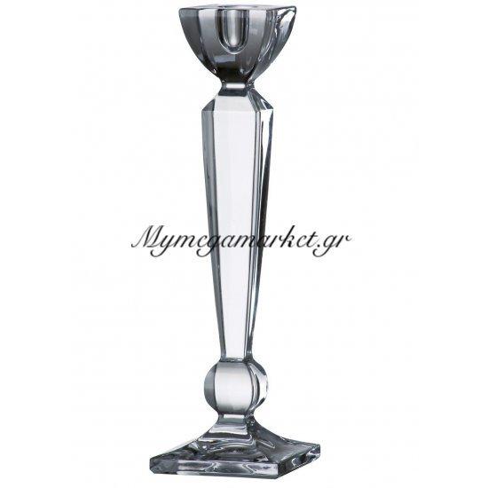 Κηροπήγιο κρυστάλλινο Bohemia Olympia 25,5cm Στην κατηγορία Κρυστάλλινα κηροπήγια Bohemia | Mymegamarket.gr