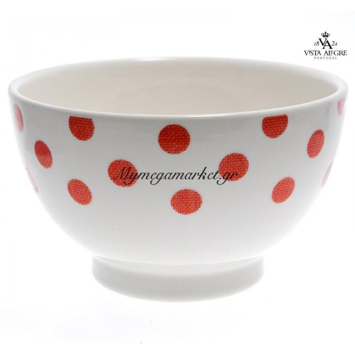 Μπώλ Spot red-Vista alegre/τεμ. | Mymegamarket.gr