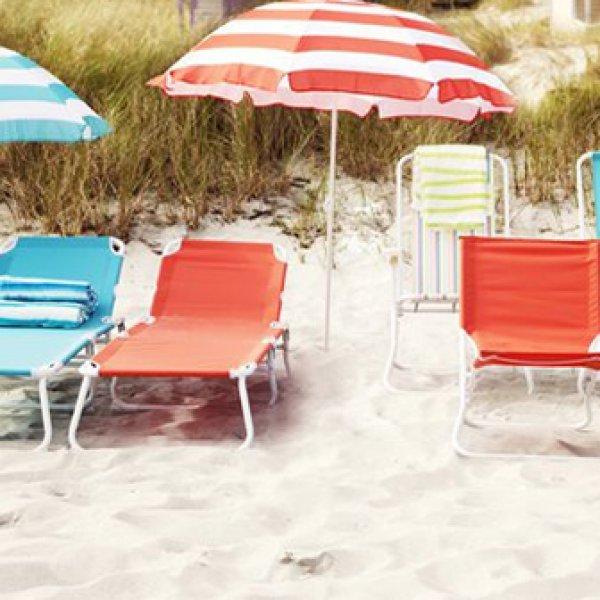 Ξαπλώστρες - Καρέκλες παραλίας