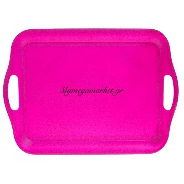 Δίσκος μελαμίνης ορθογώνιος - Φούξια χρώμα - No 43 | Mymegamarket.gr