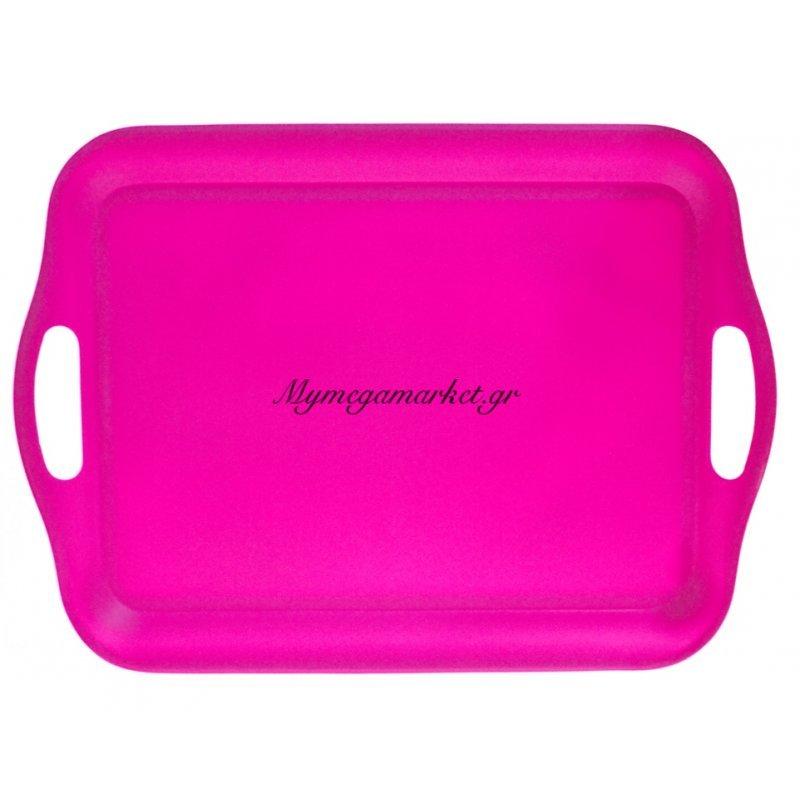 Δίσκος μελαμίνης ορθογώνιος - Φούξια χρώμα - No 43 Στην κατηγορία Πιατοθήκες - Κουταλοθήκες Πλαστικές | Mymegamarket.gr