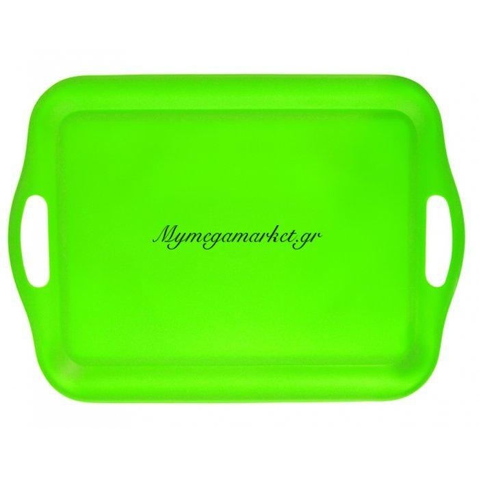 Δίσκος μελαμίνης ορθογώνιος - Λαχανί χρώμα | Mymegamarket.gr