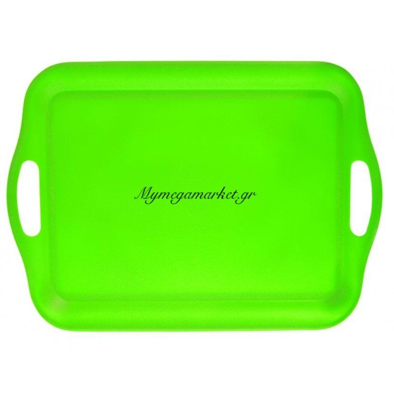 Δίσκος μελαμίνης ορθογώνιος - Λαχανί χρώμα