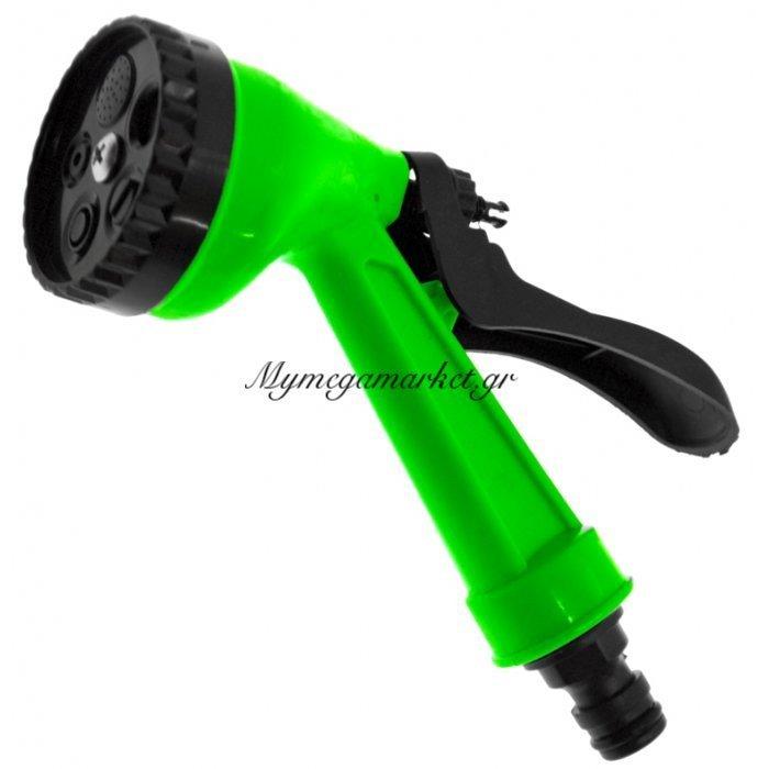 Πιστόλι πίεσης πλαστικό για λάστιχο ποτίσματος | Mymegamarket.gr