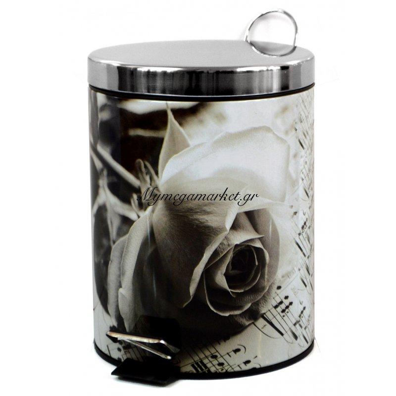 Κάδος μπάνιου - Rose - Stainless Steel Στην κατηγορία Κάδοι μπάνιου - Πιγκάλ μεταλλικά | Mymegamarket.gr