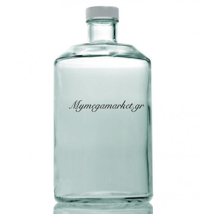 Φιάλη γυάλινη με μεταλλικό καπάκι Chiara - 1000 ml | Mymegamarket.gr