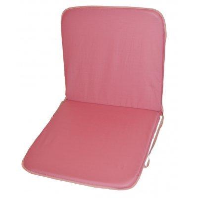 Μαξιλάρι καρέκλας με πλάτη - Ρόζ απαλό