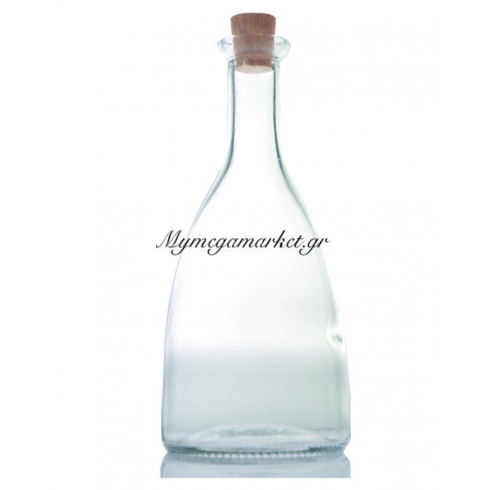 Φιάλη γυάλινη με φελλό - Violet - 250 ml | Mymegamarket.gr