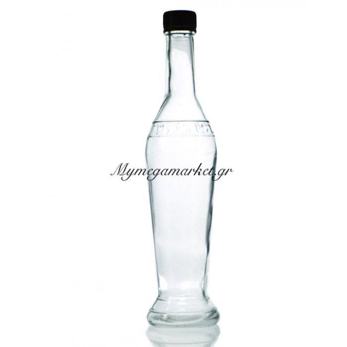 Μπουκάλι γυάλινο - Αμφορέας με βιδωτό καπάκι - 500 ml | Mymegamarket.gr