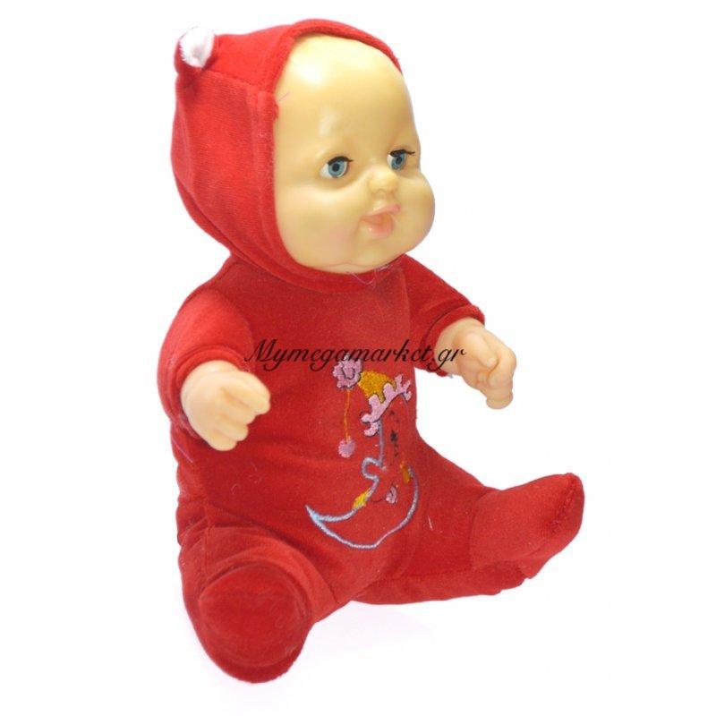 Μωρό παιχνίδι που μιλάει με κόκκινο φορμάκι