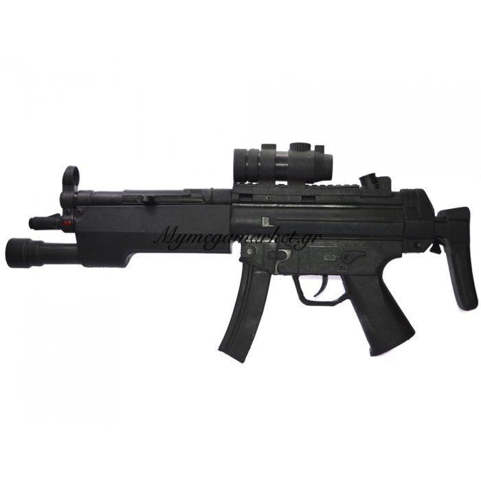 Όπλο αυτόματο για αγόρια με μπαταρία Hd - 2389 | Mymegamarket.gr