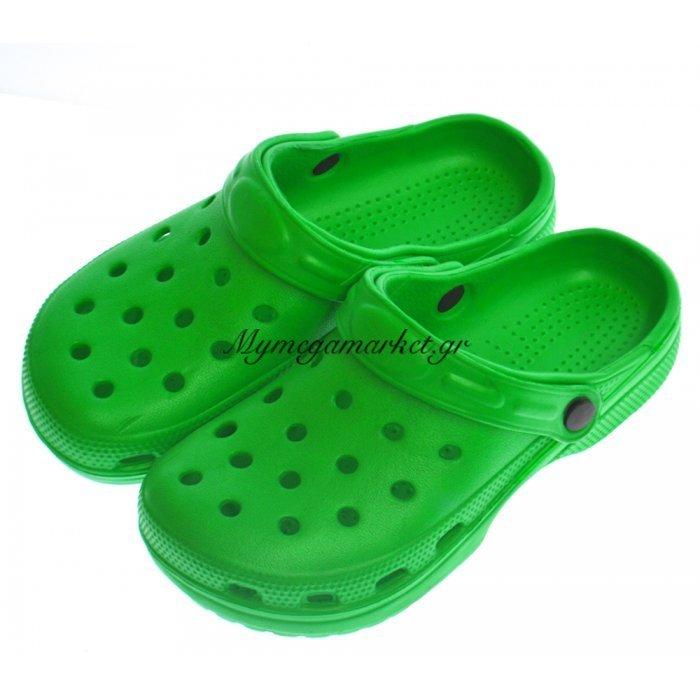 Παπούτσι θαλάσσης για παιδιά σε πράσινο χρώμα | Mymegamarket.gr