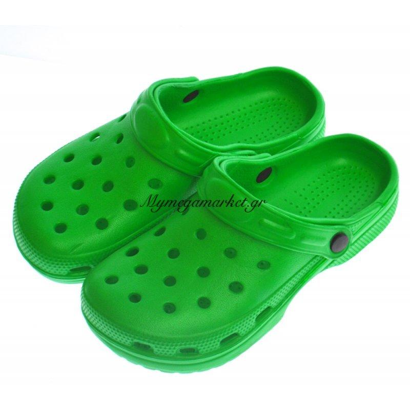 Παπούτσι θαλάσσης για παιδιά σε πράσινο χρώμα