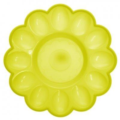 Αυγοθήκη πλαστική - 12 θέσεων - Κίτρινο