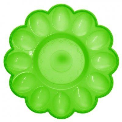 Αυγοθήκη πλαστική - 12 θέσεων - Πράσινη