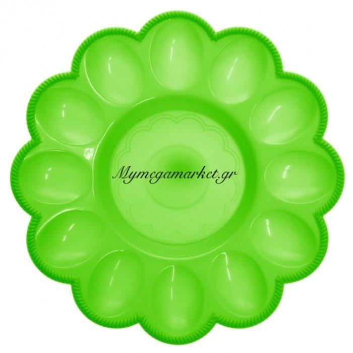 Αυγοθήκη πλαστική - 12 θέσεων - Πράσινη | Mymegamarket.gr