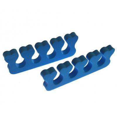 Διαχωριστικό δαχτύλων ποδιού για πεντικιούρ - Μπλέ - Σέτ 2 τμχ