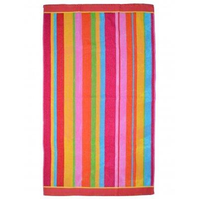 Πετσέτα θαλάσσης Jacquard design Πολύχρωμη 86 x 160 cm