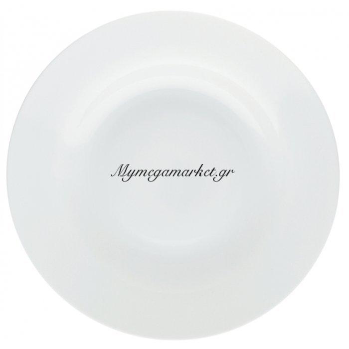 Πιάτο βαθύ στρογγυλό λευκό επαγγελματικό - New Bon | Mymegamarket.gr