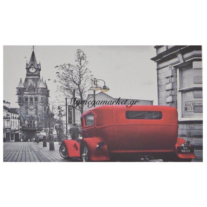 Πίνακας ξύλινος Design - Big Ben & Carriage - No 37 | Mymegamarket.gr