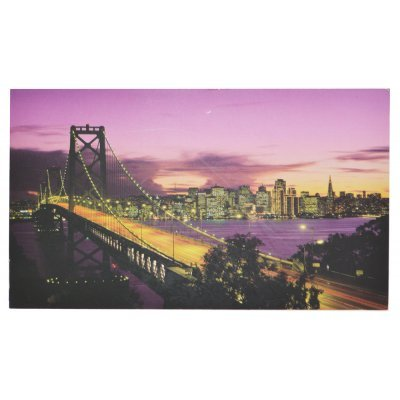 Πίνακας ξύλινος Design - Bridge San Francisco - No 37