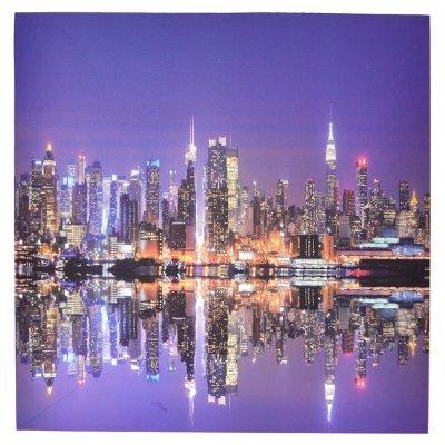 Πίνακας ξύλινος Design - New York - No 38