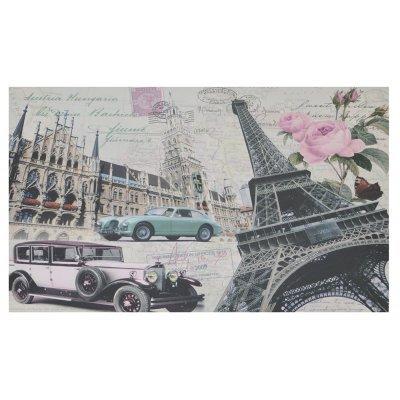 Πίνακας ξύλινος Design - Paris - Cars - No 14