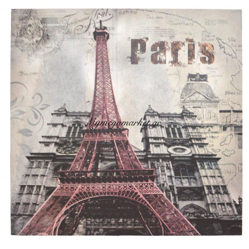 Πίνακας ξύλινος Design - Paris - No 27