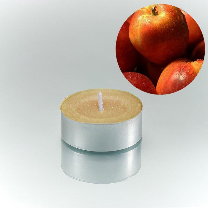 Ρεσώ κερί σέτ 25 τεμαχίων με άρωμα ροδάκινου 4 εώς 5 ωρών