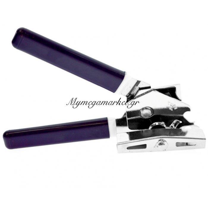 Ανοιχτήρι κονσέρβας ανοξείδωτο με πλαστική λαβή μπλέ Alpin | Mymegamarket.gr